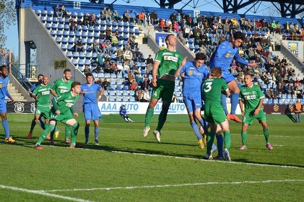 Posledný vzájomný súťažný zápas oboch celkov. Prešov vňom vzávere októbra 2014 zvíťazil vMichalovciach 1:0.