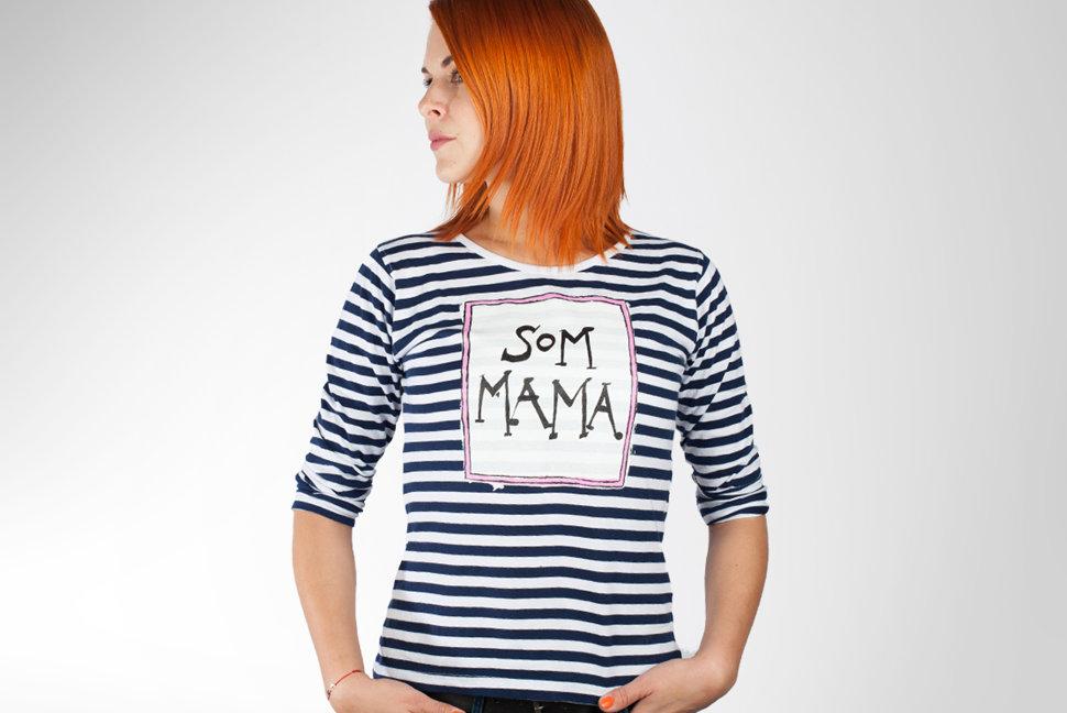 6cda6461ec Pásikavé tričká. Ako vyzerá biznis hyperaktívnej mamy Farkašovej ...