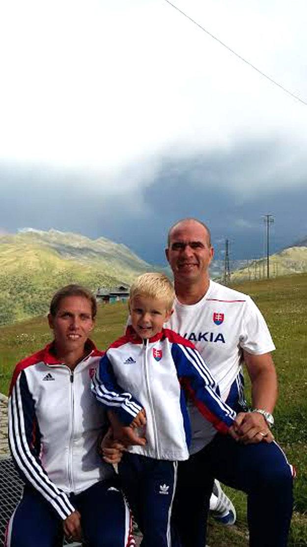 So synom Šimonkom a manželom Romanom tvoria zohratý tím.