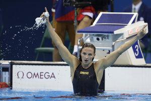 Maďarka Katinka Hosszuová získala prvé olympijské zlato v kariére.