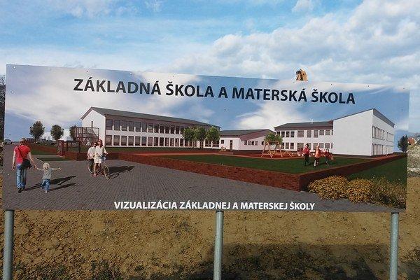 Takto by mala škola vyzerať po úplnom dokončení.