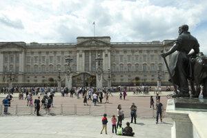 Buckinghamský palác.