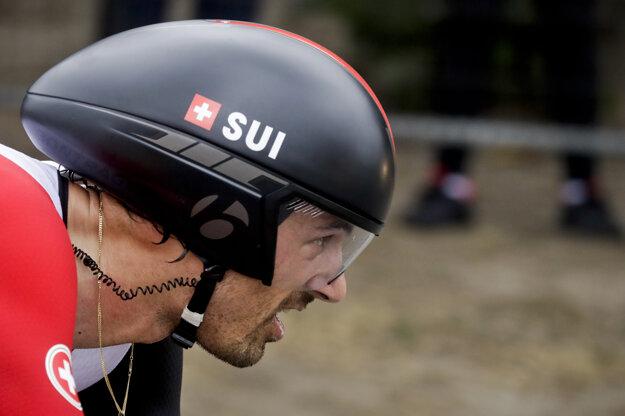 Švajčiar Fabian Cancellara.