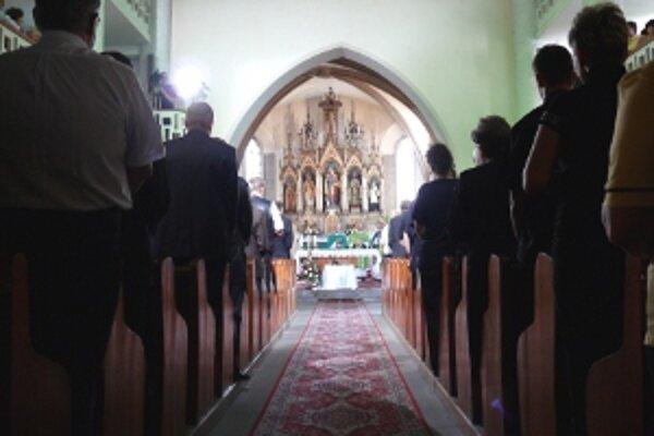 Kostol v Handlovej.