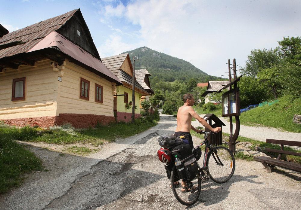 Na bicykli vo Vlkolínci