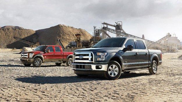 Séria pick-upov Ford Super Duty.