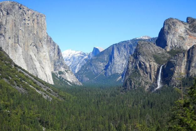 Yosemitské údolie.