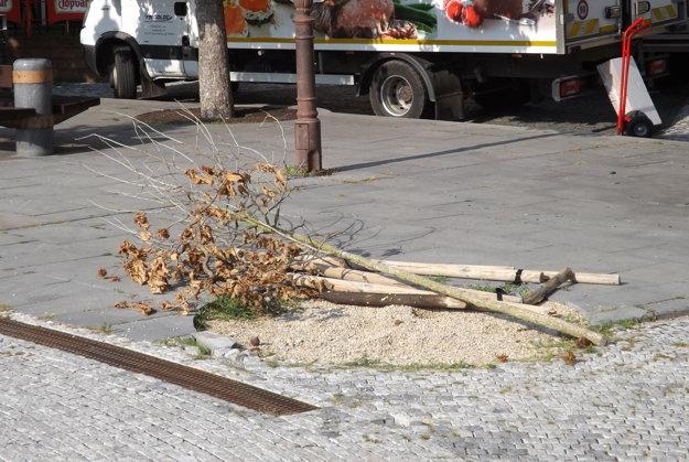 Stromom nepomohol ani nový odvodňovací žľab.