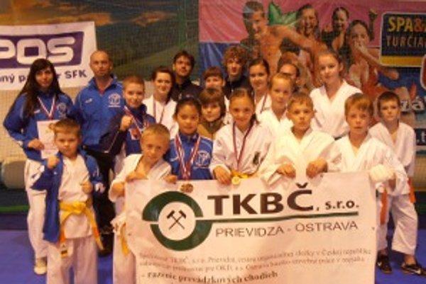 Štvorica pretekárov FKŠ Prievidza navyše triumfovala v Slovenskom pohári.