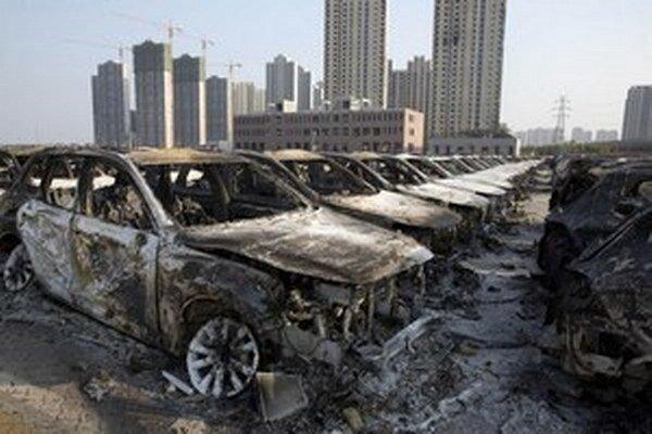 Výbuchy v prístave Tchien-ťin sa zaradili k najtragickejším priemyselným nehodám v Číne.