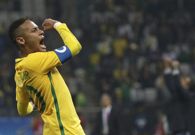Od Neymara sa čaká, že dovedie Brazíliu k zisku olympijského zlata.