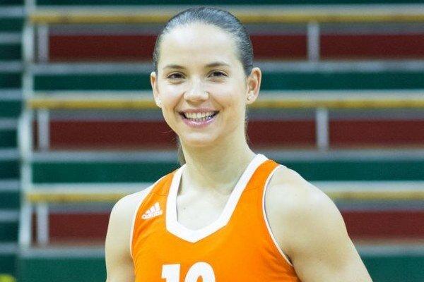 Na pomyslený najvyšší stupienok medzi seniormi vystúpila basketbalistka Zuzana Lázárová.