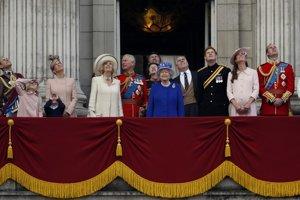 Britská kráľovská rodina.