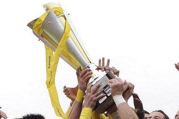 Región Liptova mal v Slovnaft Cup-e poltucet želiezok.