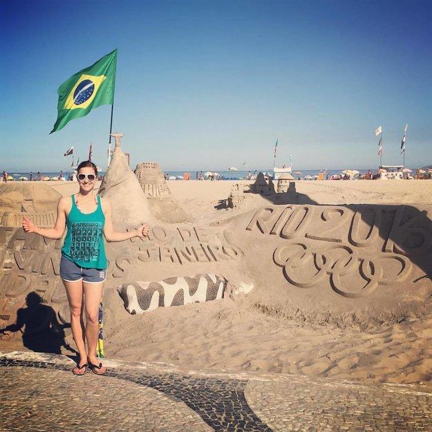 Tretia olympiáda. Rio de Janeiro si užila, no medaila sa jej neušla.