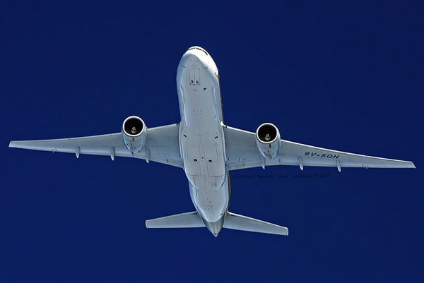 Singapore Airlines, Boeing 777-200ER.
