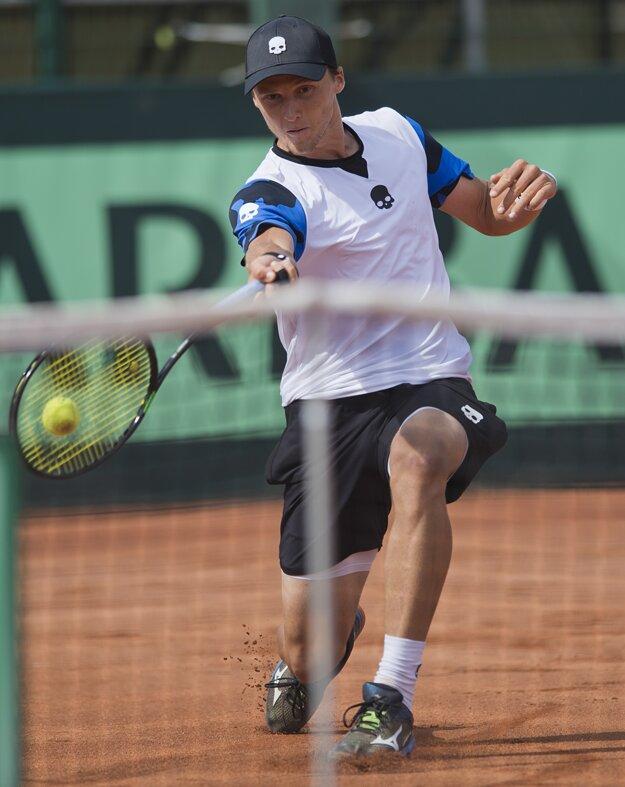 Jozef Kovalík si nedávno zahral aj v zápase Davisovho pohára v Maďarsku.
