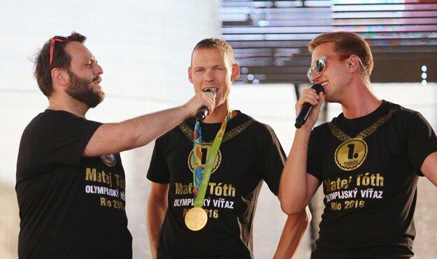 Matej Tóth povedal, že iba splnil svoj cieľ.