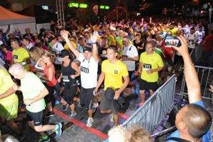 Košice Night Run 2015. Takto to vyzeralo vlani.