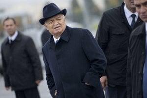 Uzbecký prezident Islam Karimov.