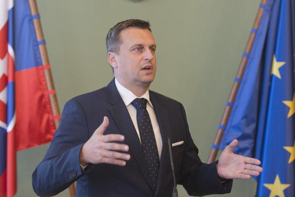 Danko vyzval SaS, aby priniesla svoje návrhy na zmeny.
