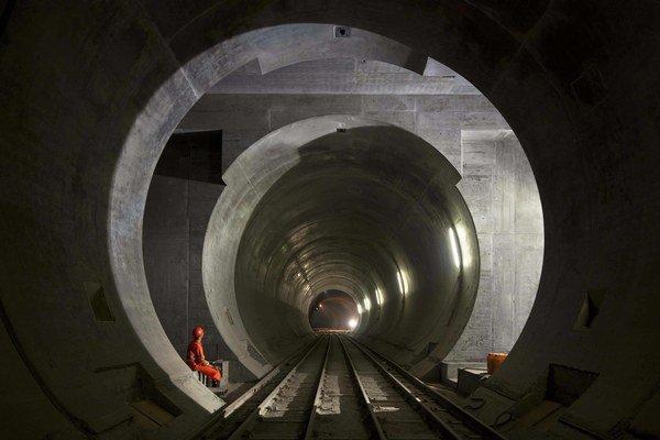 Nový Gotthardský tunel.