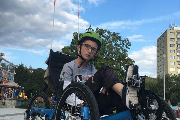 Danko a jeho nový bicykel.