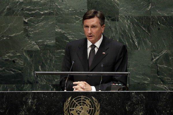 Slovinský prezident Borut Pahor.