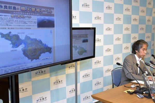 Sadayuki Kitagawa, riaditeľ vulkanologického oddelenia v japonskej Meteorologickej agentúre.