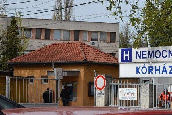 Komárňanská nemocnica (Ilustračné foto)