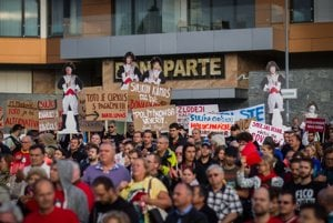 Posledný protest pred Bonaparte.