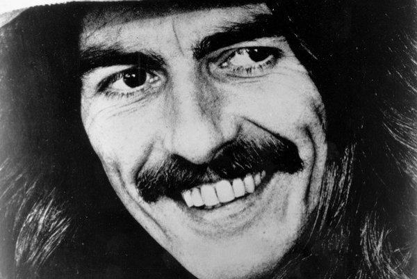 Bývalý člen skupiny Beatles George Harrison.