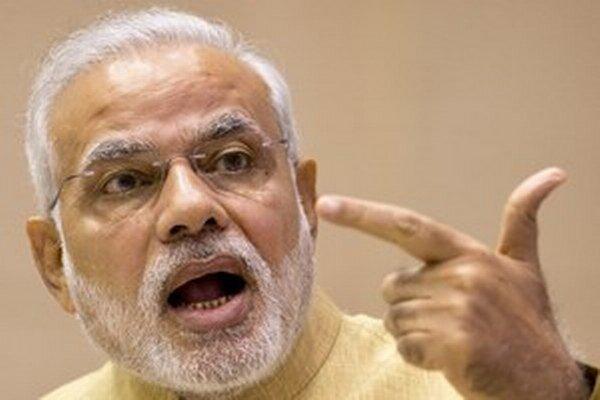 Indický premiér Naréndra Módí.