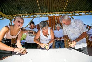 V súťažiach hrali hlavnú úlohu zemiaky.