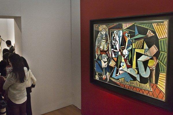 Najdrahší obraz na svete a súčasne za najviac peňazí vydražené Picassovo dielo predstavuje pestrofarebnú kombináciu abstraktného a realistického výtvarného umenia.
