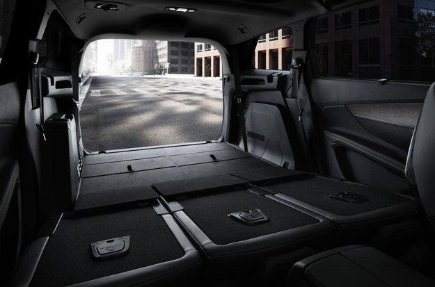Batožinový priestor ponúkne po sklopení sedadiel veľkorysý objem