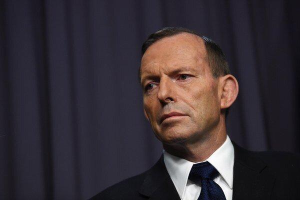 Austrálsky premiér Tony Abbott.