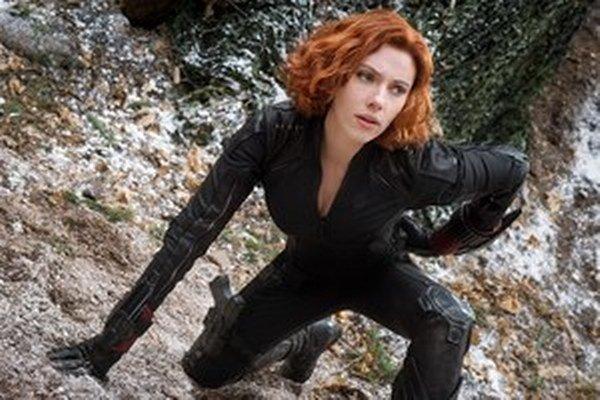 Scarlett Johansson ako superhrdinka Black Widow