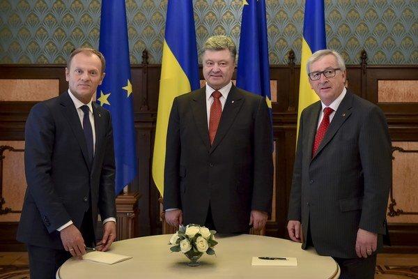V Kyjeve sa konal 17. summit EÚ-Ukrajina.