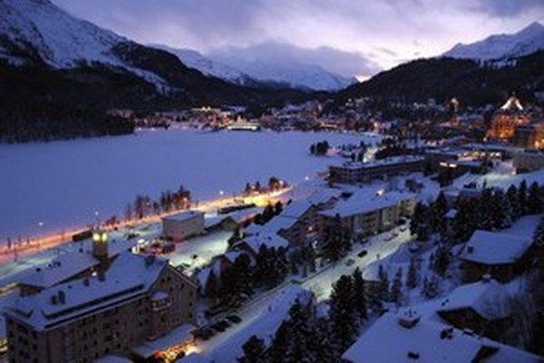 Švajčiarsky St. Moritzi.