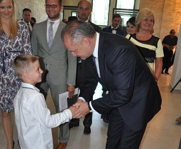 Úspechy Mareka Nagya vyzdvihol aj prezident Andrej Kiska.
