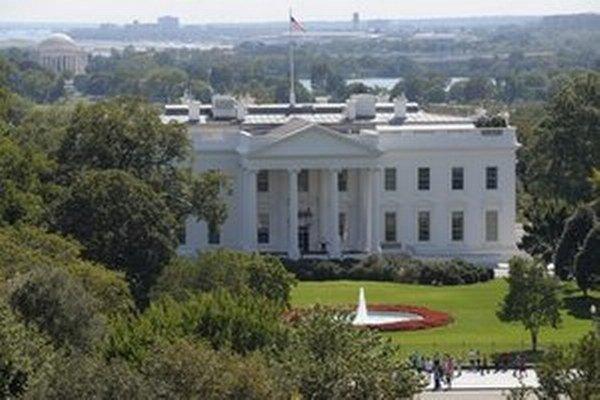 Biely dom, sídlo amerického prezidenta.