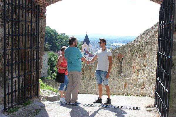 Martin zNového Jičína sa stal vroku 2016 stotisícim návštevníkom hradu.