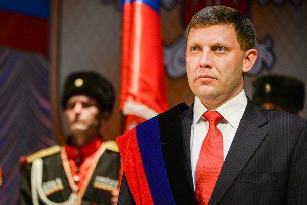 Podľa Zacharčenka Minsk zlyhá, ak vláda neuzná povstalecké územia.