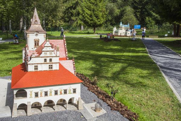 Atraktívnosť Liptova zvýšili aj modely v novootvorenom Mini Slovensku.