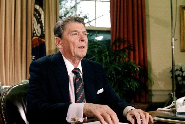 Americký exprezident Ronald Reagan