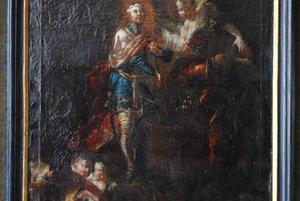 Stredoueurópsky maliar z 2. polovice 18. storočia – Sv. Václav.