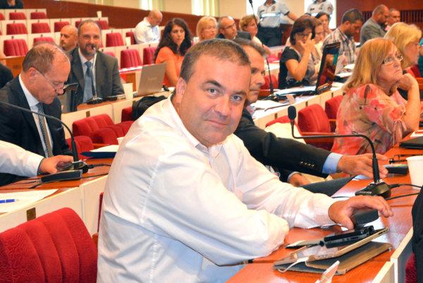 Marián Gaj, nezávislý mestský poslanec a starosta Severu.