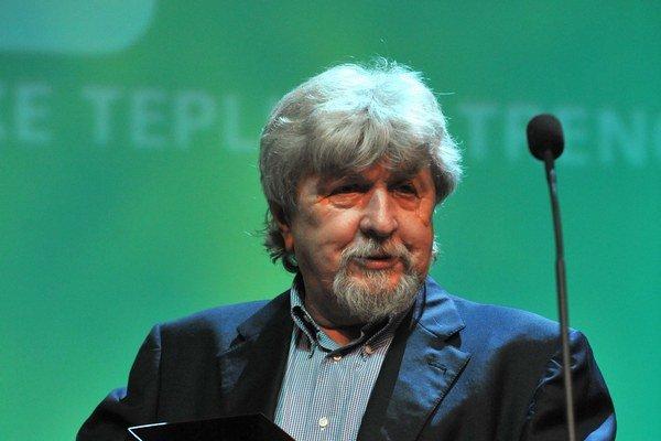 Český režisér Miroslav Ondříček 27. júna 2008 počas otváracieho ceremoniálu Medzinárodného filmového festivalu Artfilm v Trenčíne 27. júna 2008.