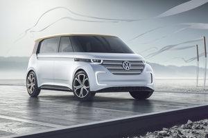 Volkswagen BUDD-e, koncept predstavený na tohtoročnom veľtrhu spotrebnej elektroniky CES.